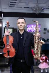 Саксофон и Скрипка